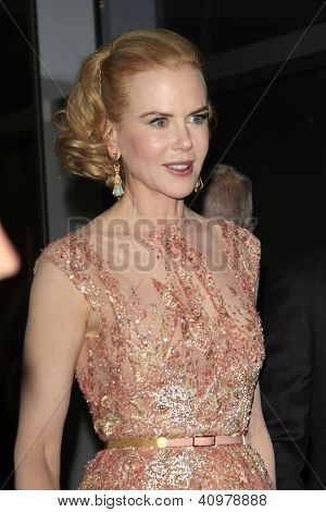 LOS ANGELES - JAN 12: Nicole Kidman at the 2013 G'Day USA Los Angeles Black Tie Gala at JW Marriott on January 12, 2013 in Los Angeles, California