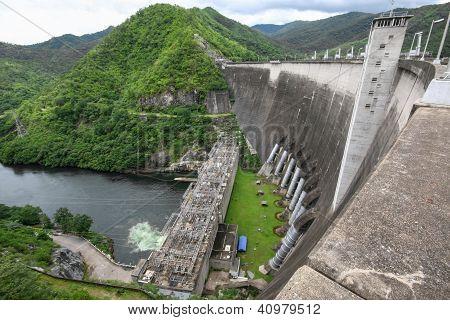 Bhumibol-Staudamm in thailand