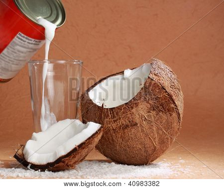 Coco Milk And Coconut