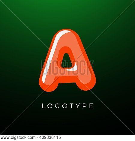 3d Playful Letter A, Kids And Joy Style Symbol For School, Preschool, Comic Book, Kids Zone Decorati