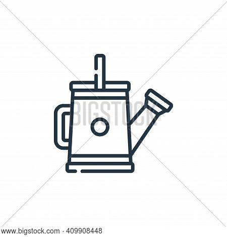 watering can icon isolated on white background from plastic products collection. watering can icon t