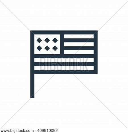united states icon isolated on white background from united states of america collection. united sta