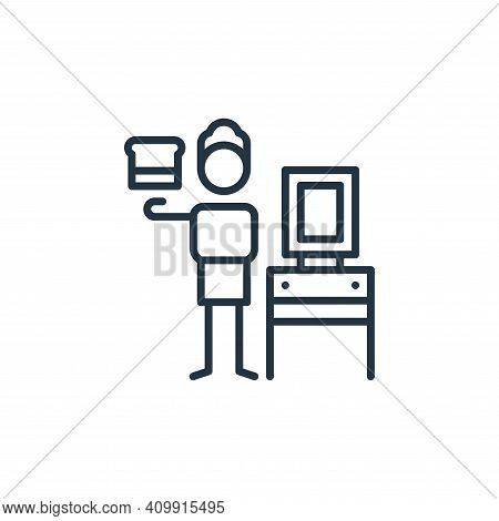 silk icon isolated on white background from general arts collection. silk icon thin line outline lin