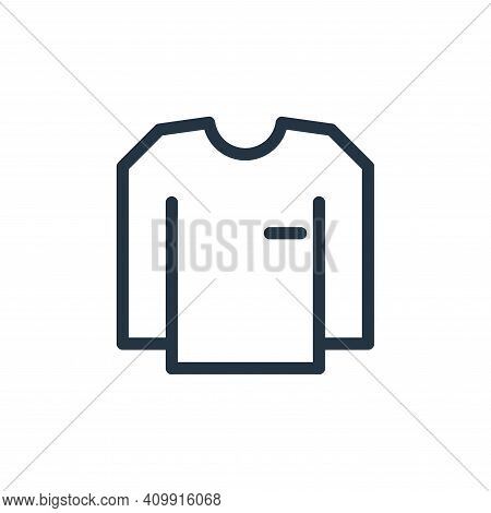 shirts icon isolated on white background from fashion collection. shirts icon thin line outline line
