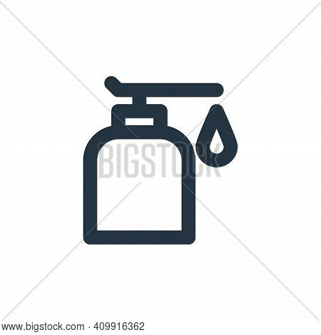 shampoo icon isolated on white background from bathroom collection. shampoo icon thin line outline l