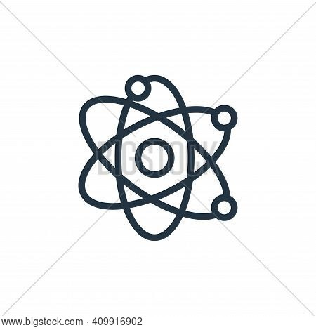 science icon isolated on white background from school collection. science icon thin line outline lin
