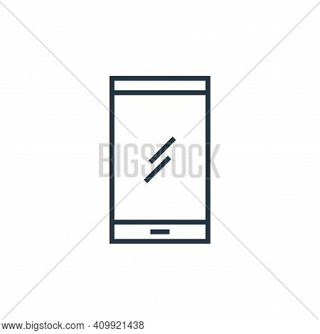 phone icon isolated on white background from school collection. phone icon thin line outline linear