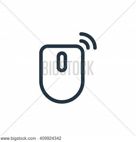 mouse icon isolated on white background from technology collection. mouse icon thin line outline lin
