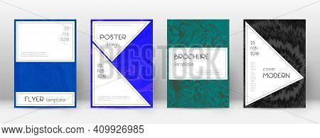 Abstract Cover. Vibrant Design Template. Suminagashi Marble Stylish Poster. Vibrant Trendy Abstract