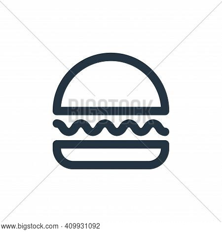 hamburger icon isolated on white background from user interface collection. hamburger icon thin line
