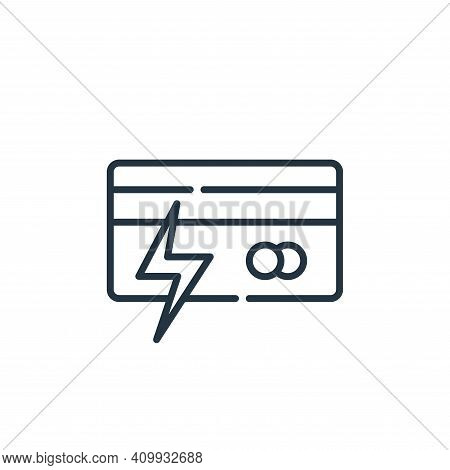 fraud icon isolated on white background from hacker collection. fraud icon thin line outline linear