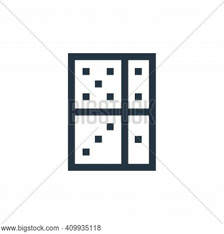 domino icon isolated on white background from hobbies collection. domino icon thin line outline line