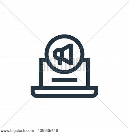 digital marketing icon isolated on white background from advertisement collection. digital marketing