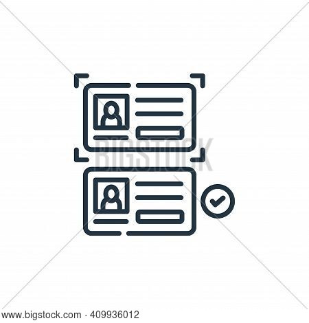 data theft icon isolated on white background from hacker collection. data theft icon thin line outli