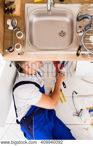 Plumber Drain Sink Repair And Plumbing Maintenance