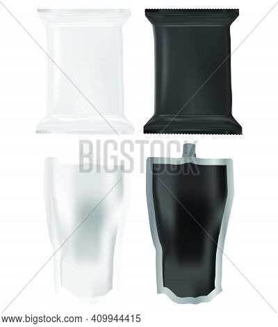 Pasta Sauce Pouch Spout Doypack, Mayonnaise Squeeze Spout Pouch. Tomato Ketchup Plastic Packaging. L