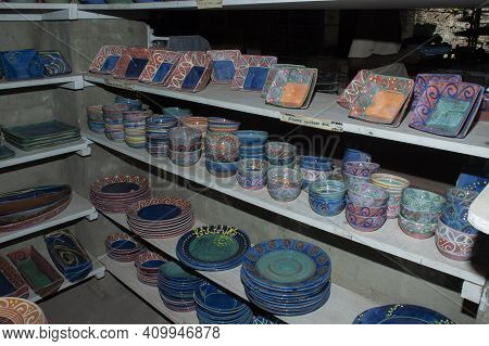 Caribbean Artisan Craft Pottery, Bowls, Dishes, Cups And Collectibles.