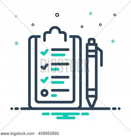 Mix Icon For Curriculum Program Schedule Syllabus Course-of-study Timetable Studies Information