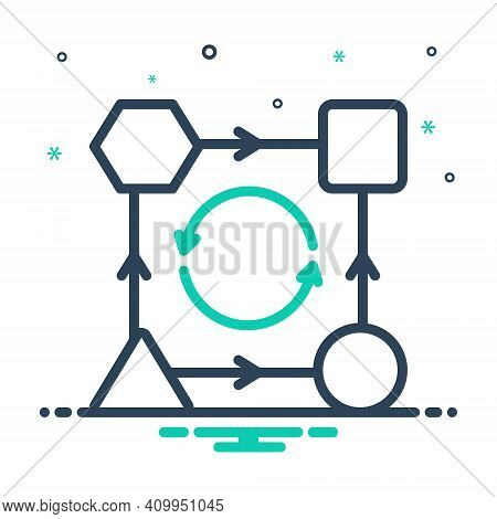 Mix Icon For Transform Change Convert Modify Alter Transfer Transmute