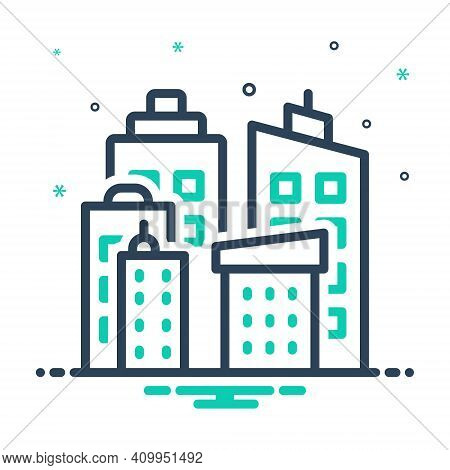 Mix Icon For Direction Road Street Roadway Driveway Highway Path Walkway Route Journey Navigation