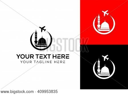New Travel Agency Logo Design. Travel Agency. Vector Logo Design Templates For Airlines, Airplane Ti