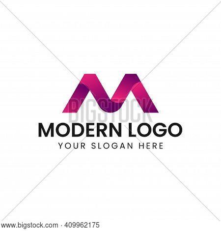 Letter M Logo Icon Design Template Elements. Creative Design Icon.