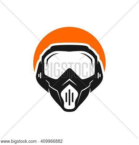 Logo Design Face Shield Mask Or Face Shield Helmet
