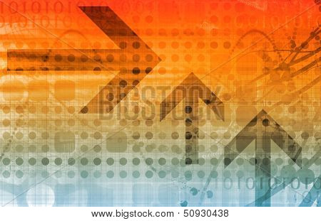 Business Finance and Technology as a Art Abstract