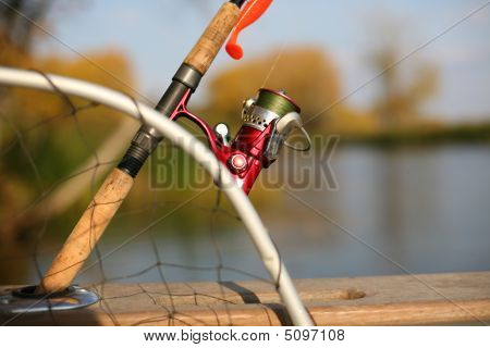 Fishing Reel And A Silicon Lure