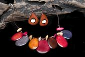 handcrafted jewelry handmade in Ecuador with tagua poster