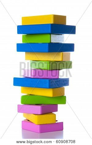 Colorful Wooden Blocks