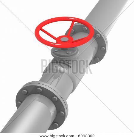 Brushed Metal Pressure Head Line Detail