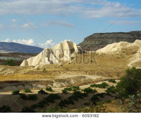 Tuff Formations In Cappadocia