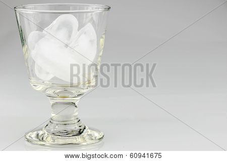 Glass Of Icecubes
