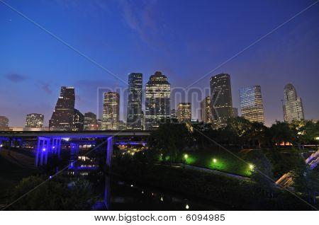 Houston-Sonnenaufgang