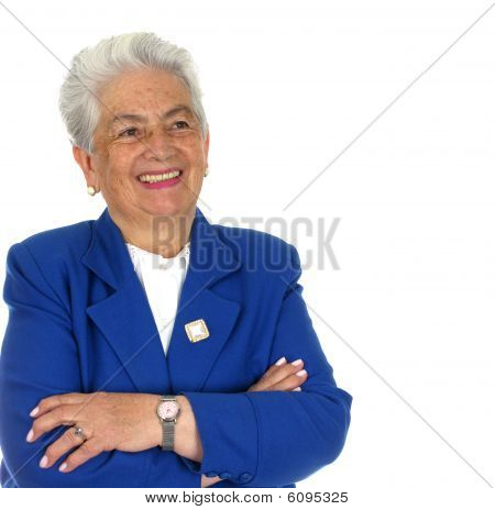 Elderly Happy Woman
