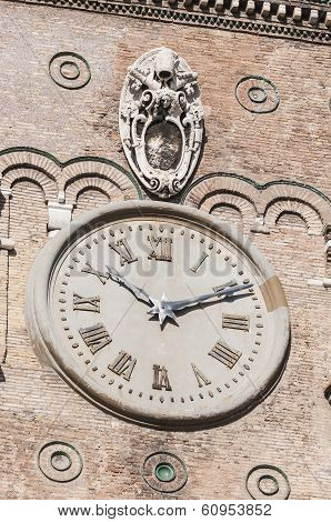 The Papal Basilica Of Saint Mary Major In Rome, Italy.
