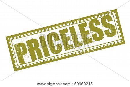 Priceless Stamp