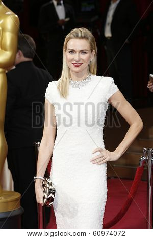 LOS ANGELES - MAR 2: Naomi Watts  at the 86th Annual Academy Awards at Hollywood & Highland Center on March 2, 2014 in Los Angeles, California