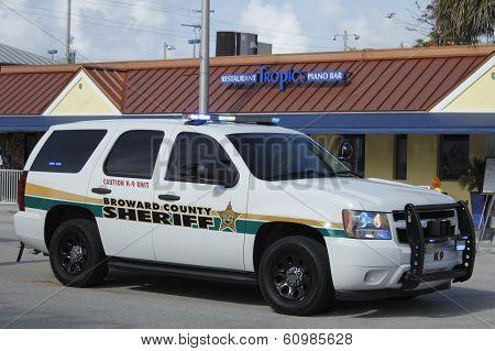 K-9 Unit Broward County Sheriff
