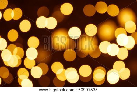 christmas bokeh -  horizontal abstract pattern for your project