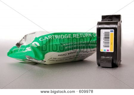 Inkjet Cartridge And Recycling Bag