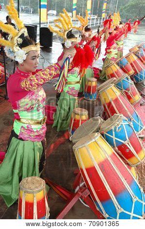 Rampak Kendang dance