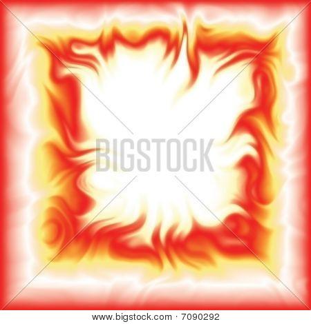 Fiery frame
