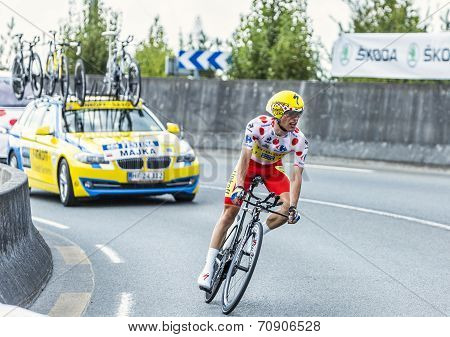 The Cyclist Rafal Majka