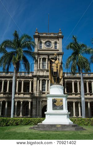 Statue of King Kamehameha