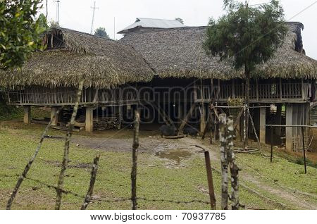 a tribal house