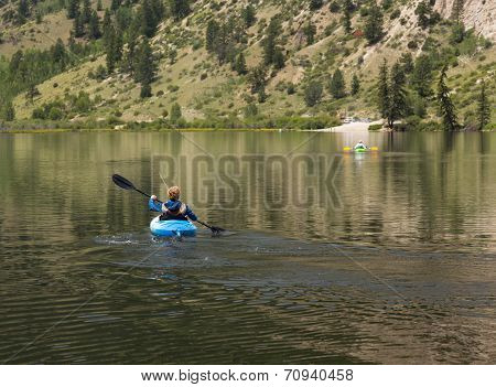 Cottonwood Lake Near Buena Vista Colorado