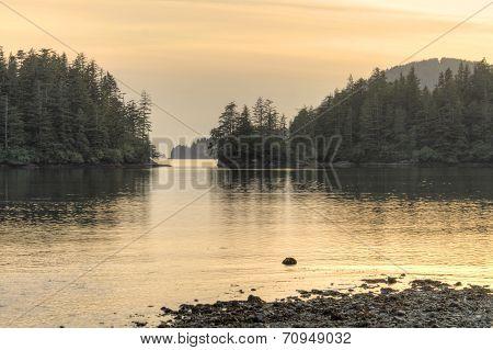 Serene Alaskan Cove