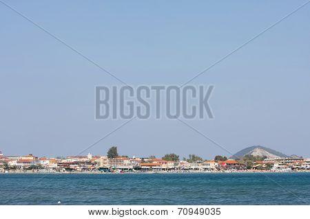 Laganas Coast On Zakynthos Island
